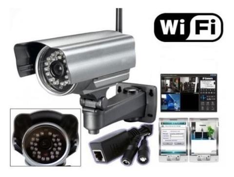 Telecamera professionale wireless da esterno notturna