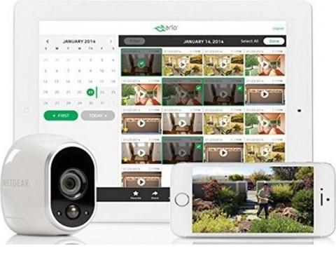 Videocamera moderna in hd e wireless netgear