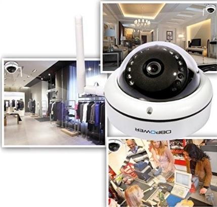 Telecamera moderna da soffitto con visore notturno