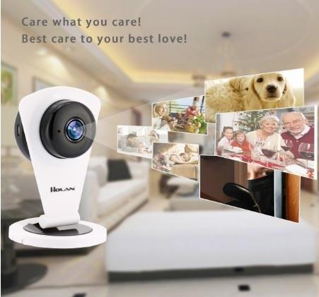 Videocamera di sorveglianza con visore notturno display hd