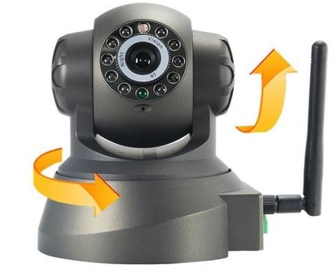 Telecamera Wireless Con Rotazione Fino A 350° In Orizzontale