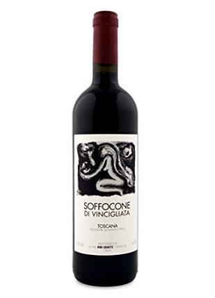 Vino rosso soffocone di vincigliata da 750 ml