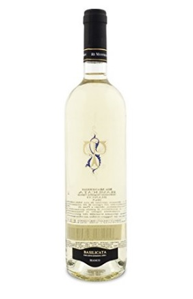 Vino bianco manfredi bottiglia da 750 basilicata