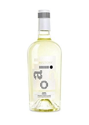 Bottiglia di vino diomede 2014 puglia