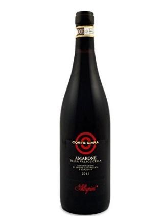 Vino rosso amarone bottiglia da 750
