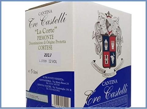 Vino bianco bag in box