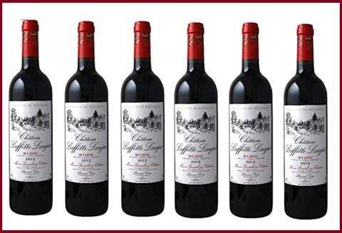 Vino bordeaux rosso