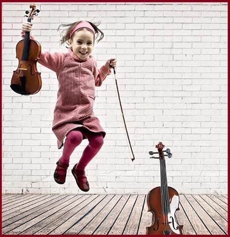 Violino per bambini classico