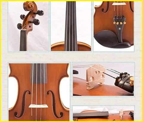 Violino Classico In Legno