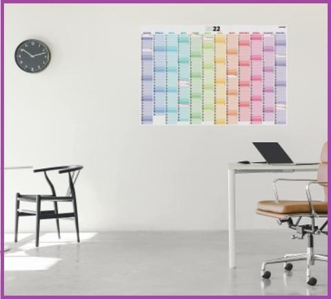 Calendari da parete annuale