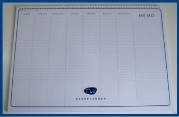 Calendari da tavolo per appuntamenti