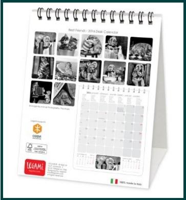 Calendari da tavolo personalizzati con foto grandi sconti calendari tovagliette personalizzate - Calendari da tavolo con foto ...