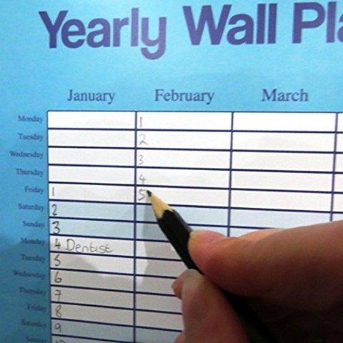 Calendario da muro annuale