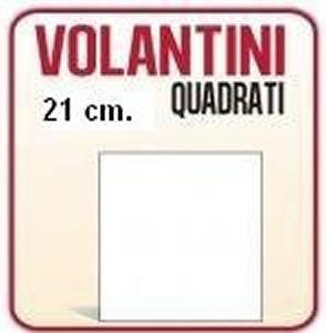 Volantini quadrati 21x21 a rimini