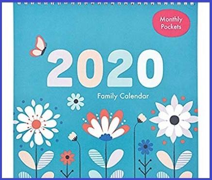 Calendario agenda famiglia 2020