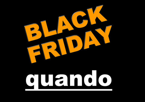 Quando è il black friday 2020?
