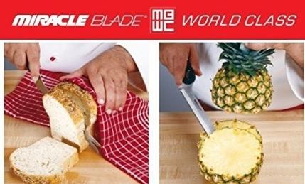 Set coltelli affilati da 9 pezzi chef tony