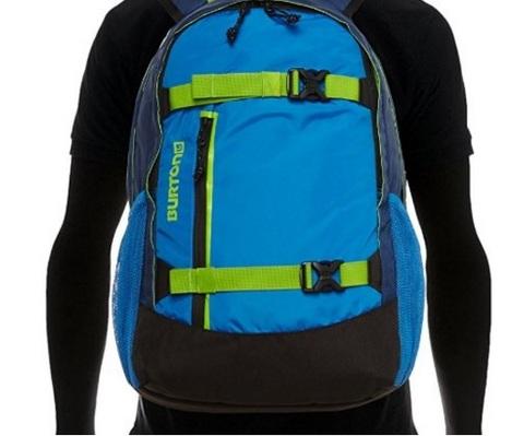 Zaino dal colore blu sportivo ed ergonomico burton