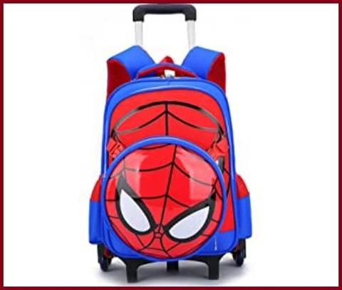 Zaino scuola spiderman con trolley