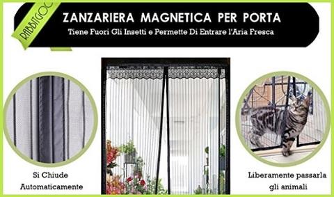 Zanzariera Magnetica 100x210 Porta