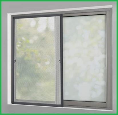 Zanzariera con telaio per finestra
