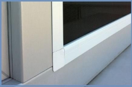 Zanzariera finestra estensibile in alluminio