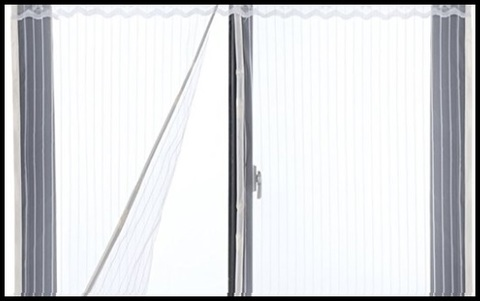 Zanzariera magnetica bianca