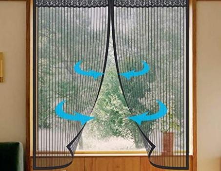 Zanzariere con calamita per finestre